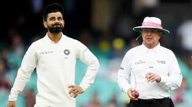 Gloved umpires to not hold sweaters, sunglasses, states ICC guidelines