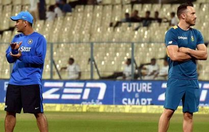 MS Dhoni's incredible gut feeling is his biggest strength: Faf du Plessis