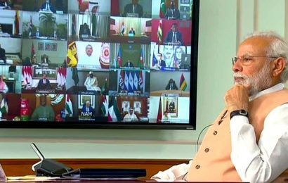 'As world fights Covid-19, some spreading other viruses': PM Modi at NAM