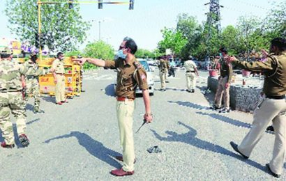 In times of Covid, new policing rules