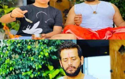 कोरोना से मुक्ति के लिए भोजपुरी स्टार Ravi Kishan ने बेटे संग किया हवन, कहा 'अभी कुछ और दिन…'