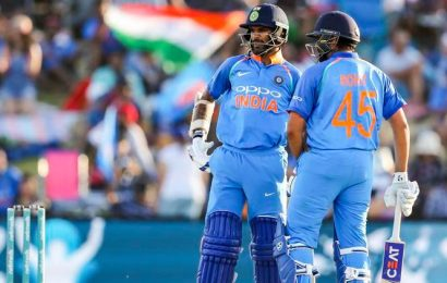 Shikhar Dhawan responds to Rohit Sharma's 'does not like to face the first ball' comment