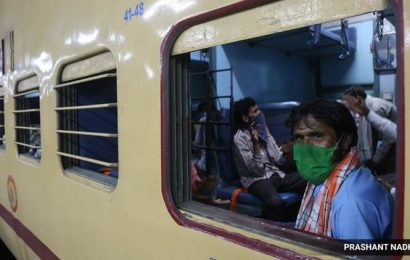 Officials cite shortage of passengers: Number of Shramik Special trains leaving Surat goes down