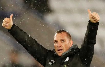 'I could hardly walk':Leicester boss Brendan Rodgers recalls battle with coronavirus