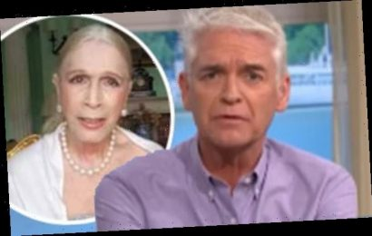 Lady Colin Campbell calls Phillip Schofield 'ignorant' in awkward chat