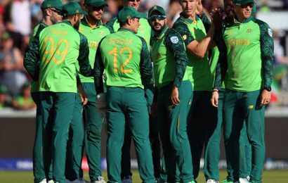 COVID-19: South Africa to trial unique limited overs tie