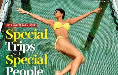Mandira's stunning bikini pix are travel goals