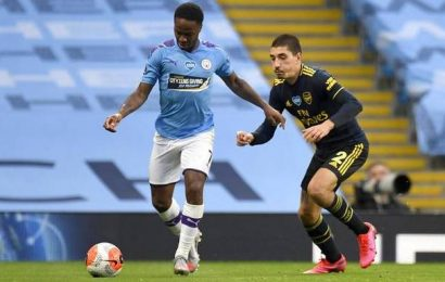 Premier League | Raheem Sterling strikes, Eric Luiz sent off as Man City outclass Arsenal