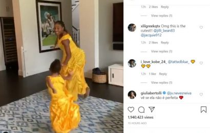 SEE: Awwdorable! Serena sings with daughter Olympia