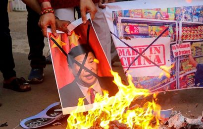 PHOTOS: Anger against China spills on to India's streets