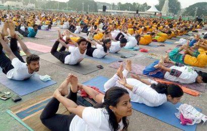 Indoor yoga for Mysureans this year