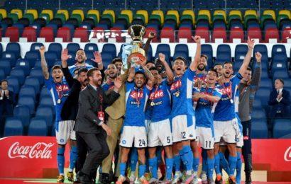 PHOTOS: Napoli upset Juve to win Coppa Italia