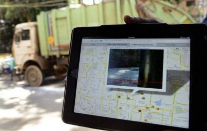 Garbage vehicles being fitted with GPS trackers