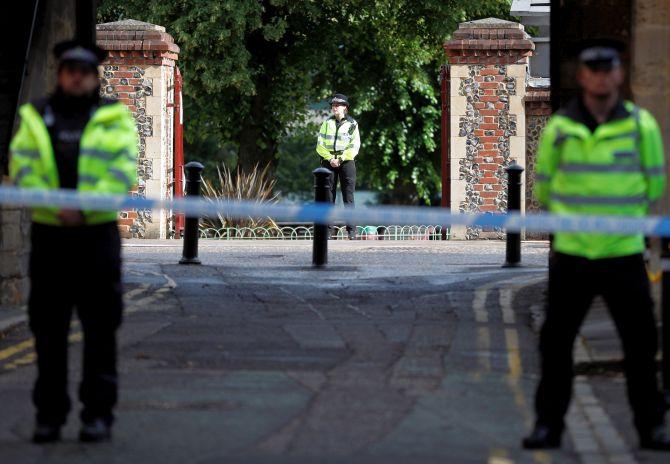UK park stabbing spree that killed 3 declared terrorist attack