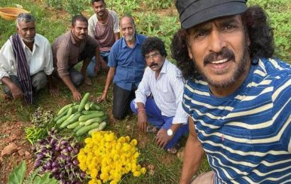 When a star tills the soil: 'Real star' Upendra takes up farming during lockdown
