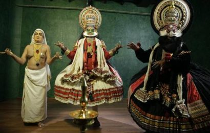 A five-minute Kathakali play to raise awareness about measures to prevent spread of COVID-19