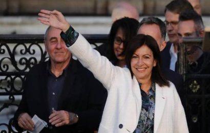 Paris Mayor Anne Hidalgo declares victory in re-election bid