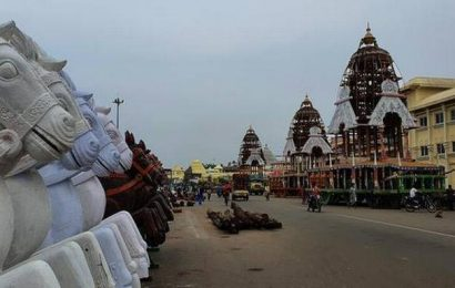 All set for rath yatra in Puri today; 41-hour shutdown imposed in town