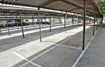Coimbatore Corporation readies space for traders evicted from Then Vadal Street