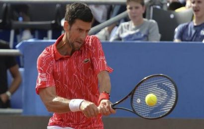 Novak Djokovic becomes fourth tennis player to test positive for coronavirus