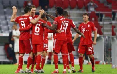 Bayern Munich in German Cup final after 2-1 win over Frankfurt