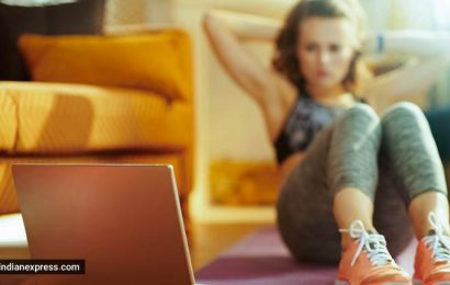 The Zoom workout: Online fitness works better for seasoned exercisers