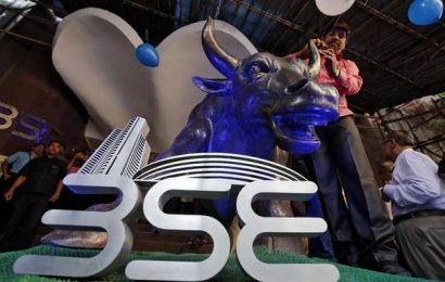 Sensex jumps over 200 pts in opening session; Nifty tops 10,100