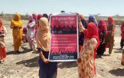 MGNREGS workers in Rajasthan demand increase in wages, days of work