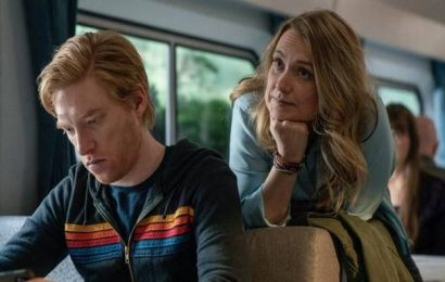 'Run' review: Merritt Wever and Domhnall Gleeson struggle to save a confused script