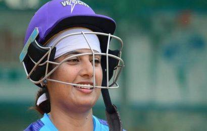 Mithali returns to the nets, feels fresh