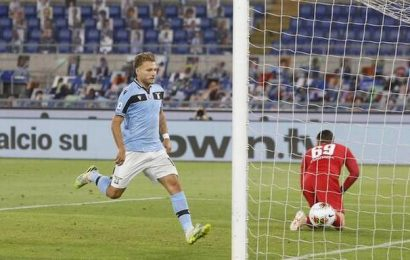 Lazio cuts Juve's lead