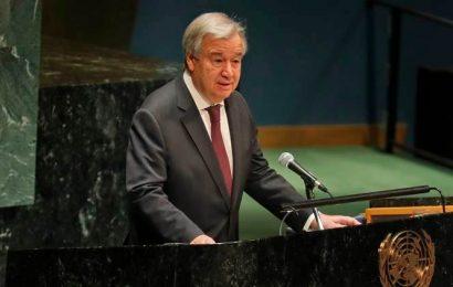 UN chief criticises lack of global cooperation on COVID-19