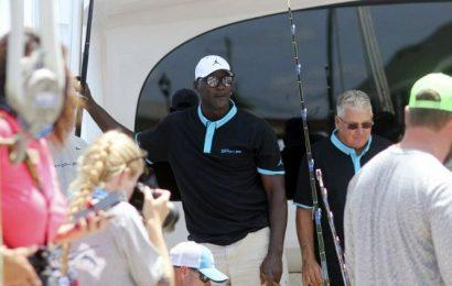 No fish story: Michael Jordan's boat nabs 442-pound marlin
