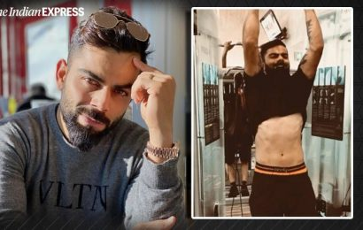 Virat Kohli's impressive weightlifting skills are major fitness goals; watch