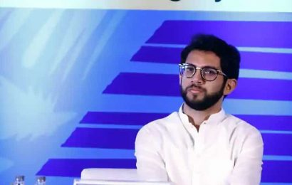 'Not the right time for any minister to speak about politics,' says Aaditya Thackeray