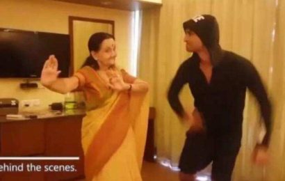 Sushant Singh Rajput's happy dance with Dil Bechara co-star Subbalakshmi goes viral. Watch video