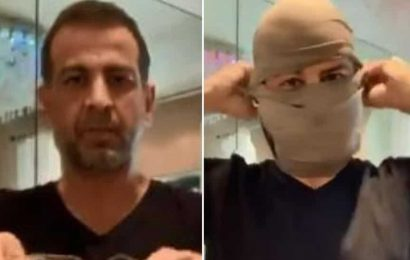 Ronit Roy's Covid-19 mask-making video goes viral among US protesters, Twitter user says 'Doesn't matter who he is'