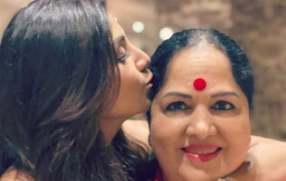 Shilpa Shetty wishes mom Sunanda on her birthday: 'Someone up there was mighty pleased with me. He gave me you'