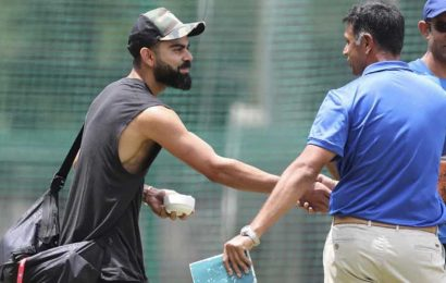When young cricketers start off, their heroes are Virat Kohli, Kane Williamson, Steve Smith:Rahul Dravid