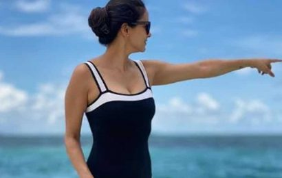 Gul Panag gives fans food for thought with throwback beach pic in favourite swimsuit. See here