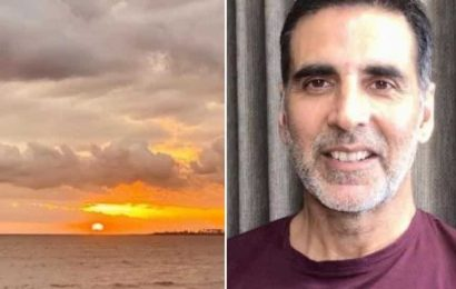 Akshay Kumar posts picture of sunset after Cyclone Nisarga, says it's 'proof every day can end beautifully'. See here