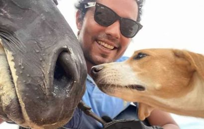 Randeep Hooda has a happy reunion with his horse Colossus. Pics are adorable