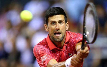 'Deeply sorry' Novak Djokovic apologises for hosting tennis event 'too soon'