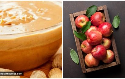 Pack a crunchy, nutritious punch with this simple post-workout snack