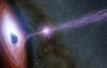 Gravitational waves detected from black hole collision event 800 million years ago