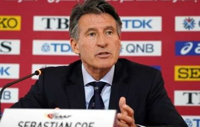 World Athletics will resume competition with participants' health in view: Sebastian Coe
