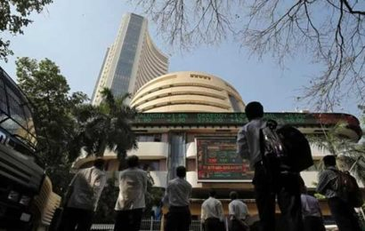 Sensex, Nifty open up lead by gains in banks