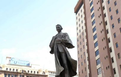 Black Lives Matter protests: Winston Churchill, Mahatma Gandhi statues in London covered