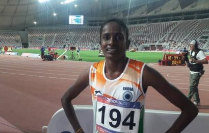 Asian champion Gomathi Marimuthu banned for 4 years for doping