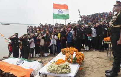 India-China border tension: Mortal remains of slain Havaldar Sunil Kumar brought to Patna